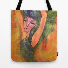 Dancing in Light Tote Bag