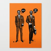 HALLOWEEN ZOMBIES Canvas Print