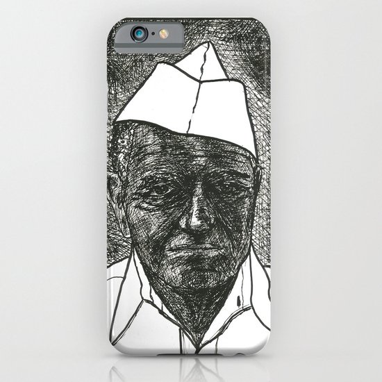 Ink Face #2 iPhone & iPod Case