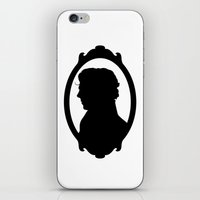 SHERLOCK Profile Print iPhone & iPod Skin