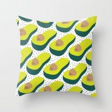 avocadododo Throw Pillow