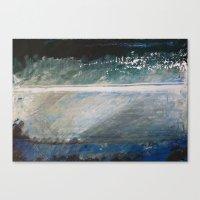 Layered Narrative Canvas Print