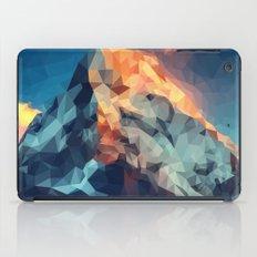 Mountain low poly iPad Case