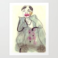 Study #12 Art Print