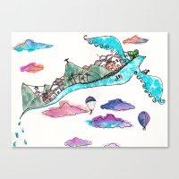 Flying Rio De Janeiro Canvas Print