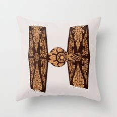 Thai Fighter Throw Pillow