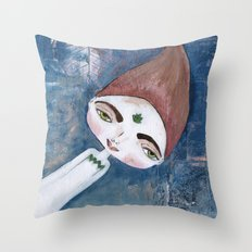 Courage-Bhoomie Throw Pillow