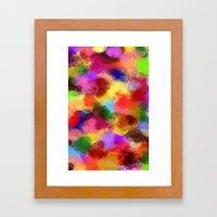Taste the Rainbow Framed Art Print