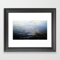 Reflections / Snoitcelfe… Framed Art Print