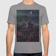 MYSTIC//DINO Mens Fitted Tee Athletic Grey SMALL