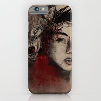 of a woman iPhone 6 Slim Case