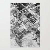 Marble X Canvas Print