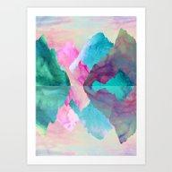 Art Print featuring Iridescence by Carolineka