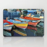 Puerto Mogan Boats iPad Case