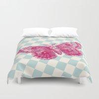 Papillon Duvet Cover