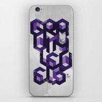 Gravity Levels - Geometr… iPhone & iPod Skin