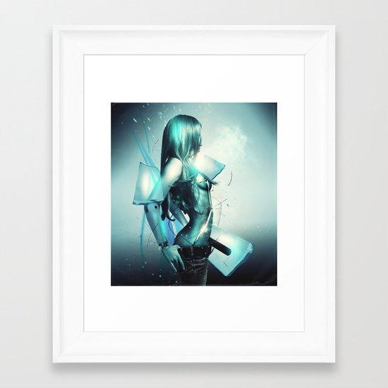 Heartless Framed Art Print