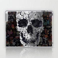 Doodle Skull Laptop & iPad Skin
