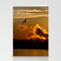 Risen To Flight Stationery Cards