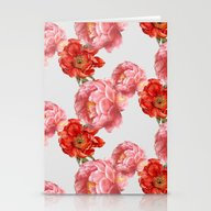 Stationery Cards featuring Vintage Floral by Cardboardcities