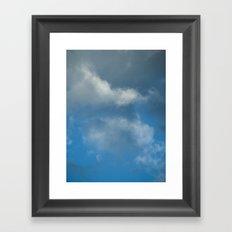 Grace blue version Framed Art Print