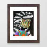 Beautiful Dreamer Anonim… Framed Art Print