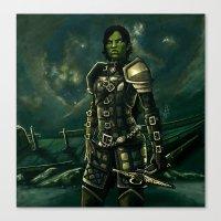 Skyrim - Shro-gan Vampir… Canvas Print