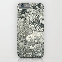 iPhone & iPod Case featuring Enchanted by Trudy Creen