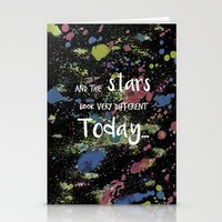 And the Stars look very Different today... Stationery Cards