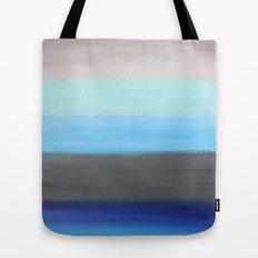 Ocean Floor Abstract Painting Tote Bag