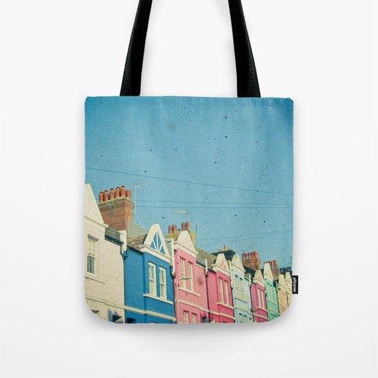 Rainbow Street Tote Bag