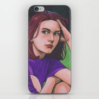 Claire D. iPhone & iPod Skin