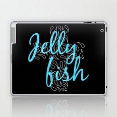 Jellyfish Cross Black Laptop & iPad Skin