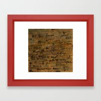 confessions Framed Art Print