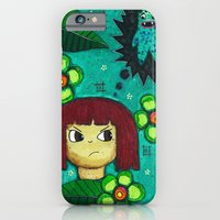 iPhone & iPod Case featuring Fighting with your demons by Stephanie Timson
