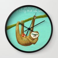 Nothing Gets Me Going Li… Wall Clock