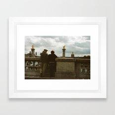 PARIS I - IN LOVE Framed Art Print