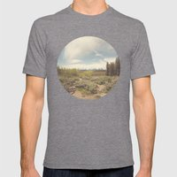 In Search Of Ansel Mens Fitted Tee Tri-Grey SMALL