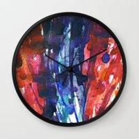 Aquarella Wall Clock