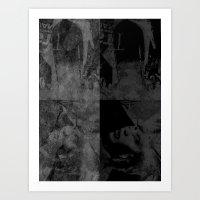 Torn Art Print