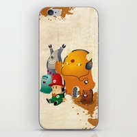 Magic Forest Gang! iPhone & iPod Skin