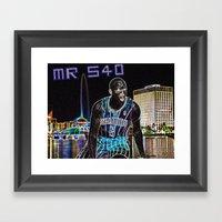 Victor Oladipo Mr. 540 Framed Art Print