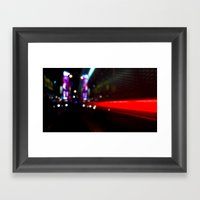 Speed Of Nyc Framed Art Print