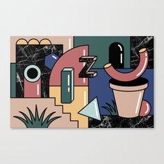 Shape Set No.2 Canvas Print