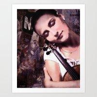 The Violin Art Print