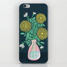 Chrysanthemum Bouquet iPhone & iPod Skin