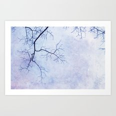 White Heaven Art Print