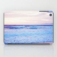 Purple Sunset over Hermosa Beach, Los Angeles  iPad Case
