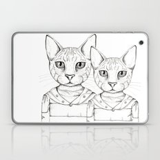 Black and White Savanha Laptop & iPad Skin