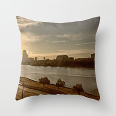 Charlie The River Throw Pillow